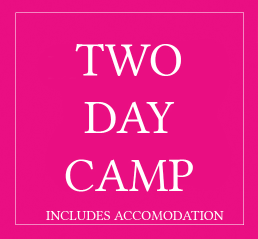 2 Day Camp (including Overnight Accomodation)
