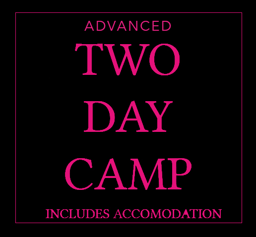2 Day Advanced Camp (including Overnight Accomodation)